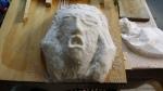 preparazione rigatini e guancia con scultura finale l'urlo (43)