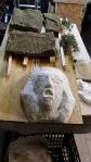 preparazione rigatini e guancia con scultura finale l'urlo (45)